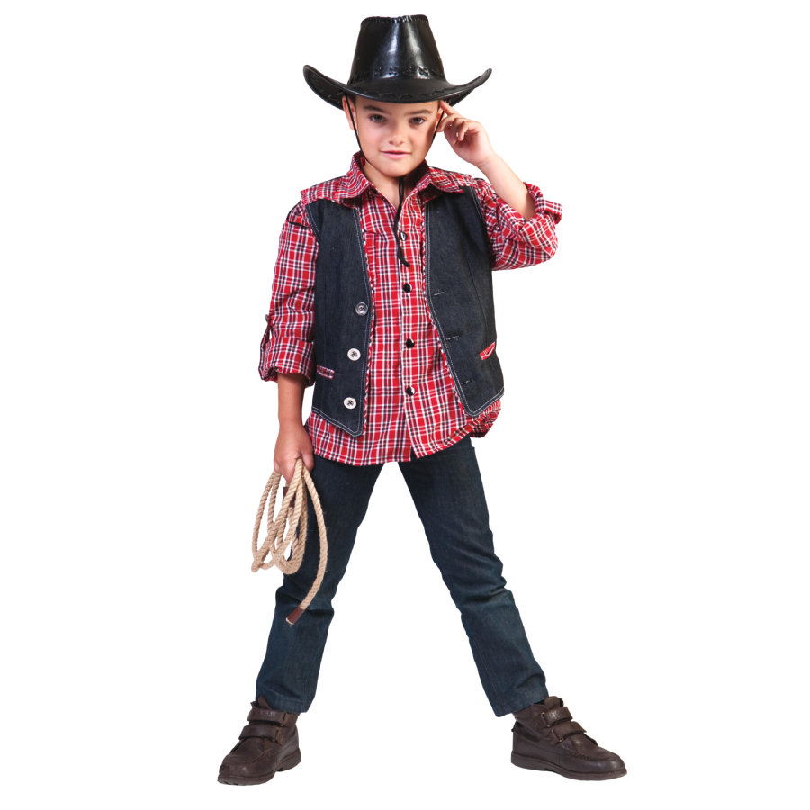 FUNNY FASHION Costume enfant Veste Cowboy