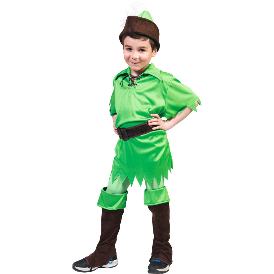 FUNNY FASHION Costume Carnaval Peter Pan