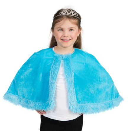Funny Fashion  Princess Cape Aqua