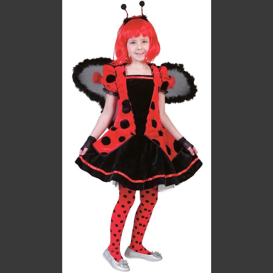FUNNY FASHION Karnawałowy kostium biedronki Stokrotka