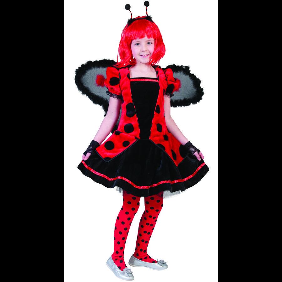 FUNNY FASHION Karnevaldräkt nyckelpiga Daisy