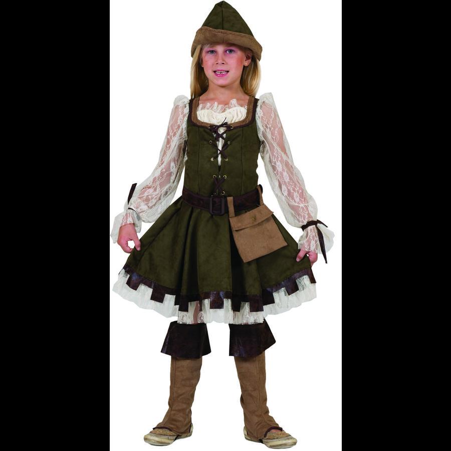 FUNNY FASHION Costume di carnevale Robin Hood