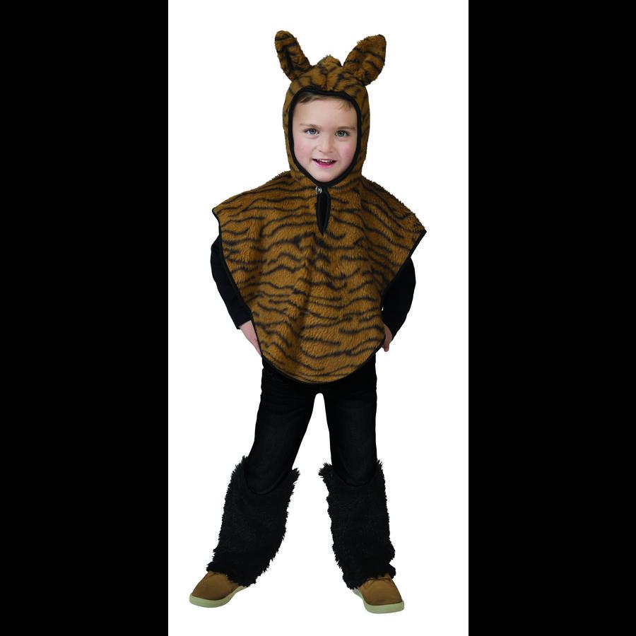 FUNNY FASHION Carnival Costume Tiger Cape