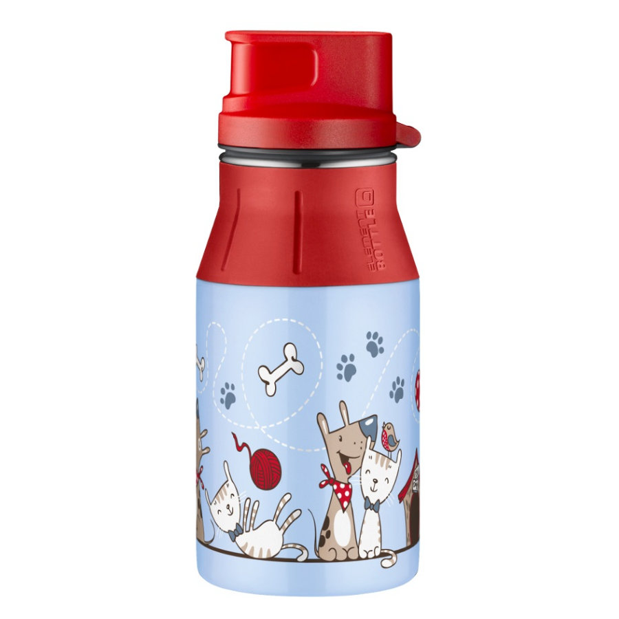 alfi elementBottle II mit Trinkverschluß, cat and dog 0,4 l