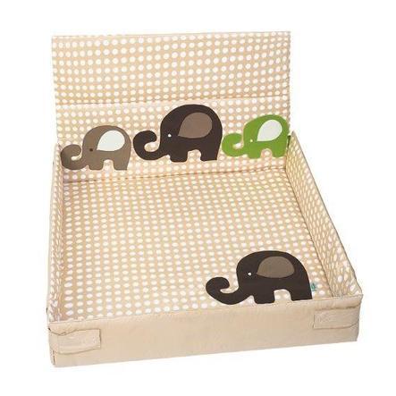 odenwälder Funny Inserto per box Fant Dots 75 x 100 cm sahara