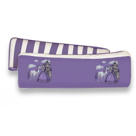 TiCAA Kit coussins pour dos Princesse violet, 2 pièces