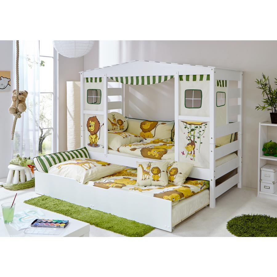 TiCAA bed Safari Var 1 met uitschuifbaar bed