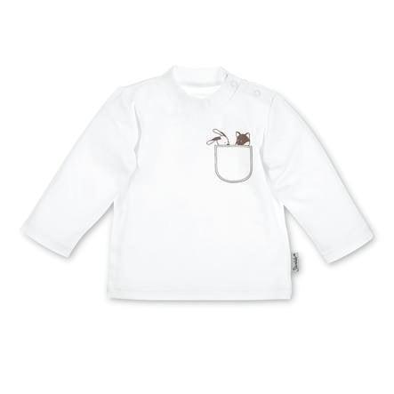 Sterntaler Chemise manches longues Jersey Waldis blanc