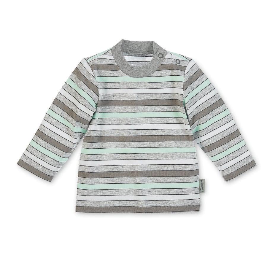 Sterntaler Overhemd met lange mouwen Jersey Waldis Filou Waldis Filou grijs melange