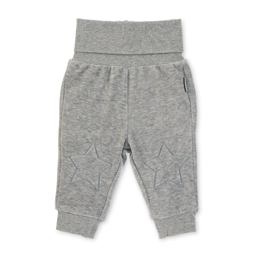 Sterntaler Pantalon de grenouillère Waldis Renard mélange gris