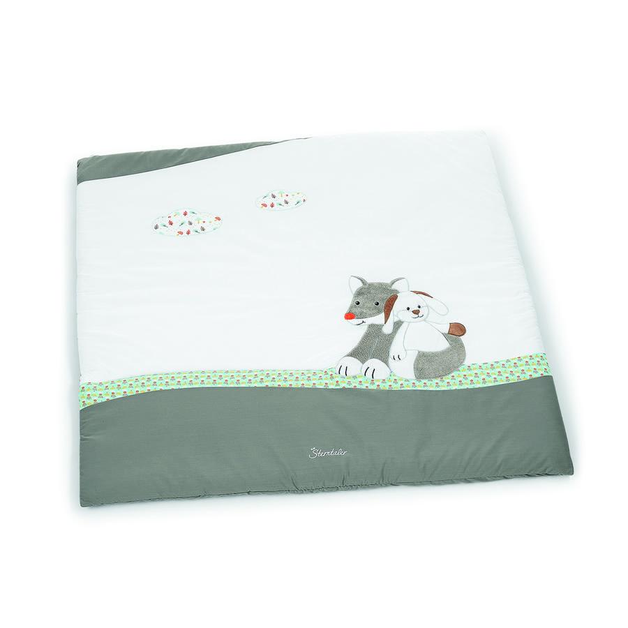 Sterntaler Coperta per gattonare Waldis Filou / Hoppel 100 x 100 cm