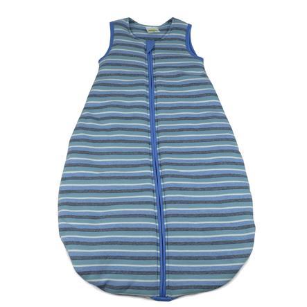 DIMO-TEX Sac de couchage rayé bleu