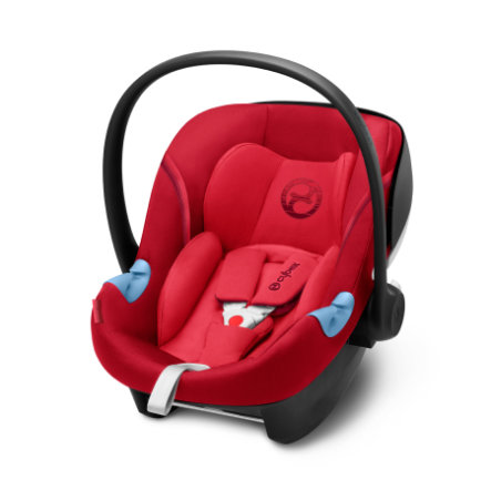 cybex GOLD Babyschale Aton M i-Size Rebel Red-red