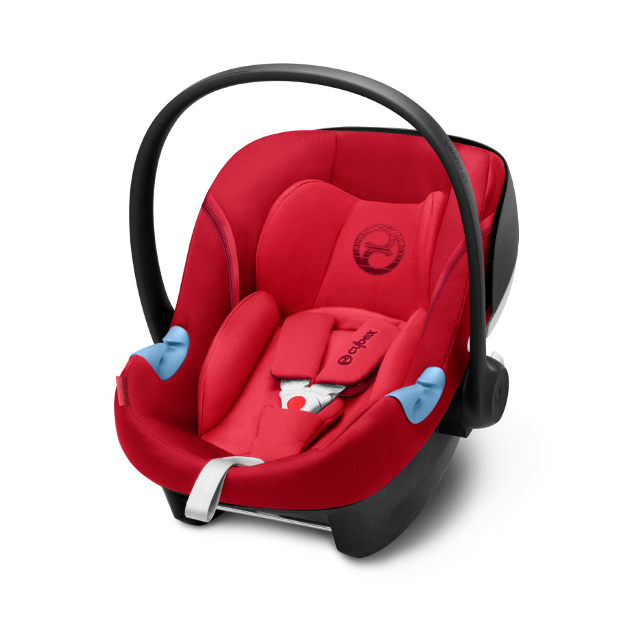 cybex GOLD Silla portabebés Aton M i-Size Rebel Red-red