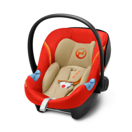 cybex Babyskydd Aton M i-Size Autumn Gold-burnt red