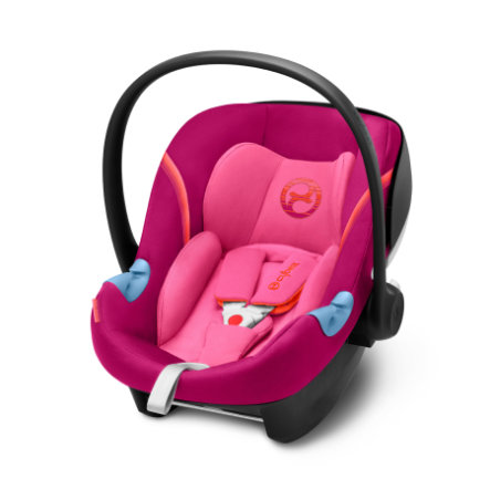 Cybex GOLD Babybilstol Aton M i-Size Passion Pink-purple