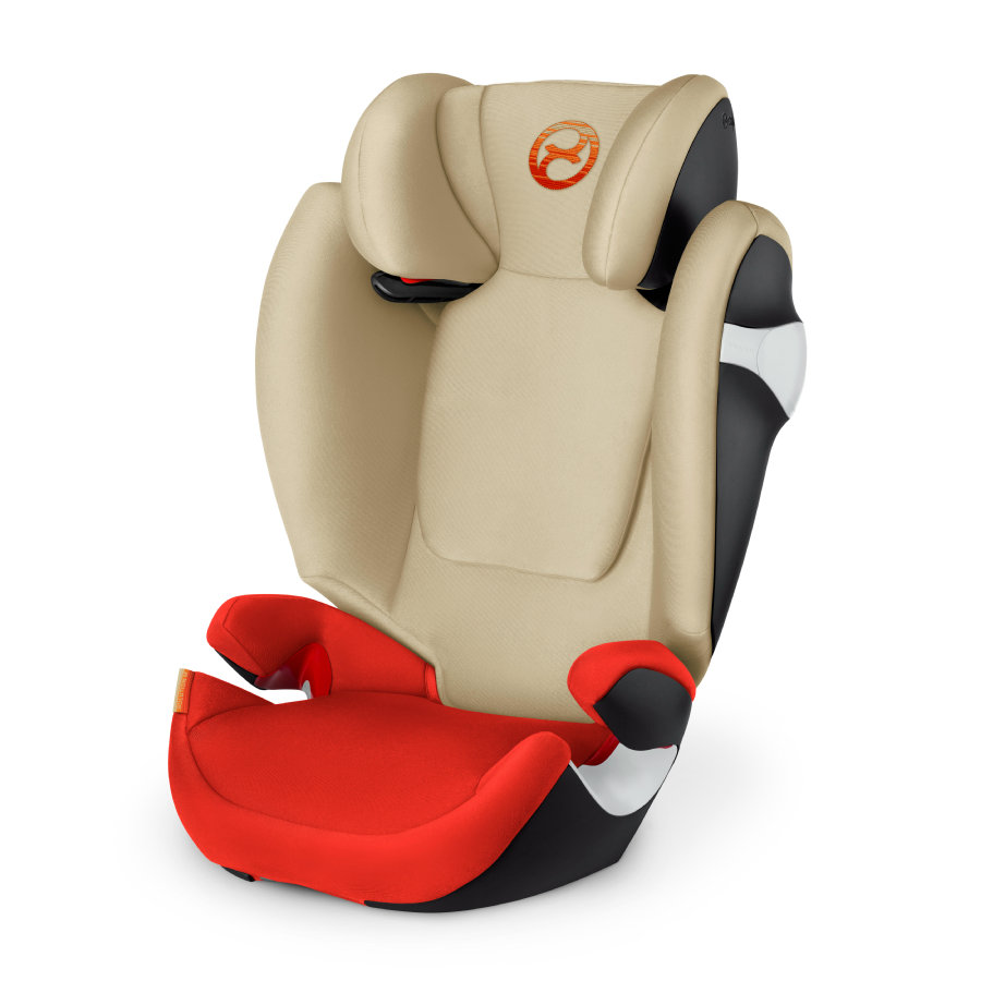 cybex GOLD Kindersitz Solution M Autumn Gold-burnt red 2018