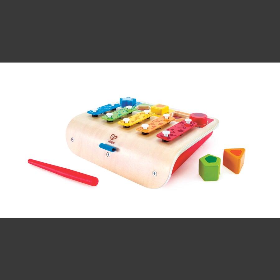 Hape Xylofon - piano i regnbuefarger