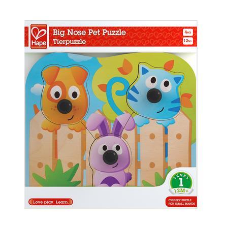 Hape Puzzle à boutons Animaux domestiques