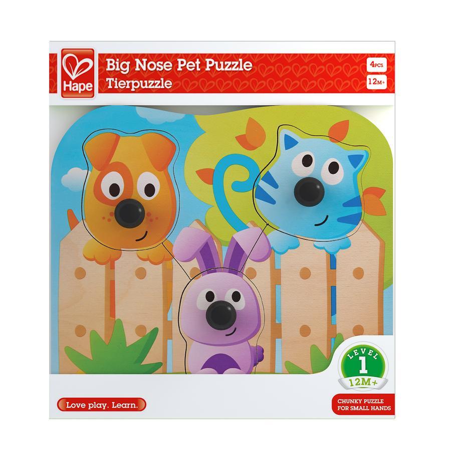 Hape Puzzel Huisdieren