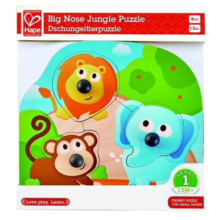 HAPE Puzzle-układanka, Zwierzątka dżungli