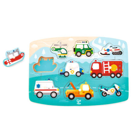 Hape Puzzle Emergency Vehicles