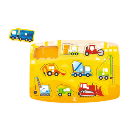 Hape Puzzle, Pojazdy budowalne