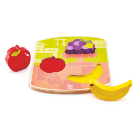 Hape dřevěné puzzle ovoce