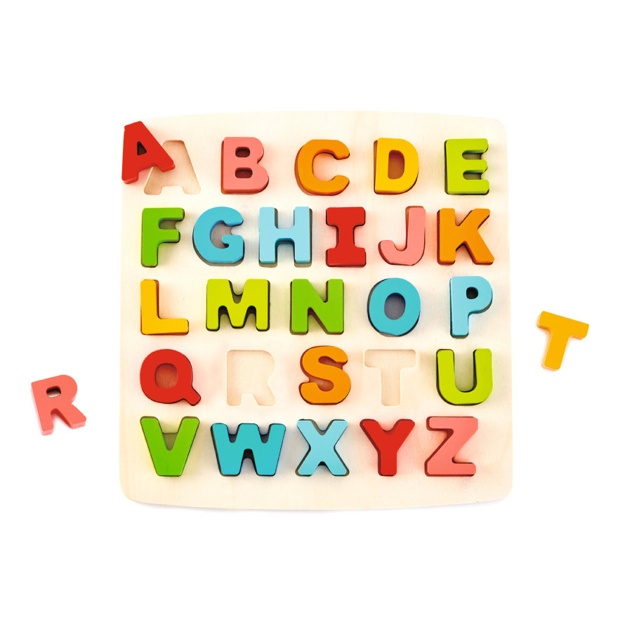 Hape Puslespil med store bogstaver