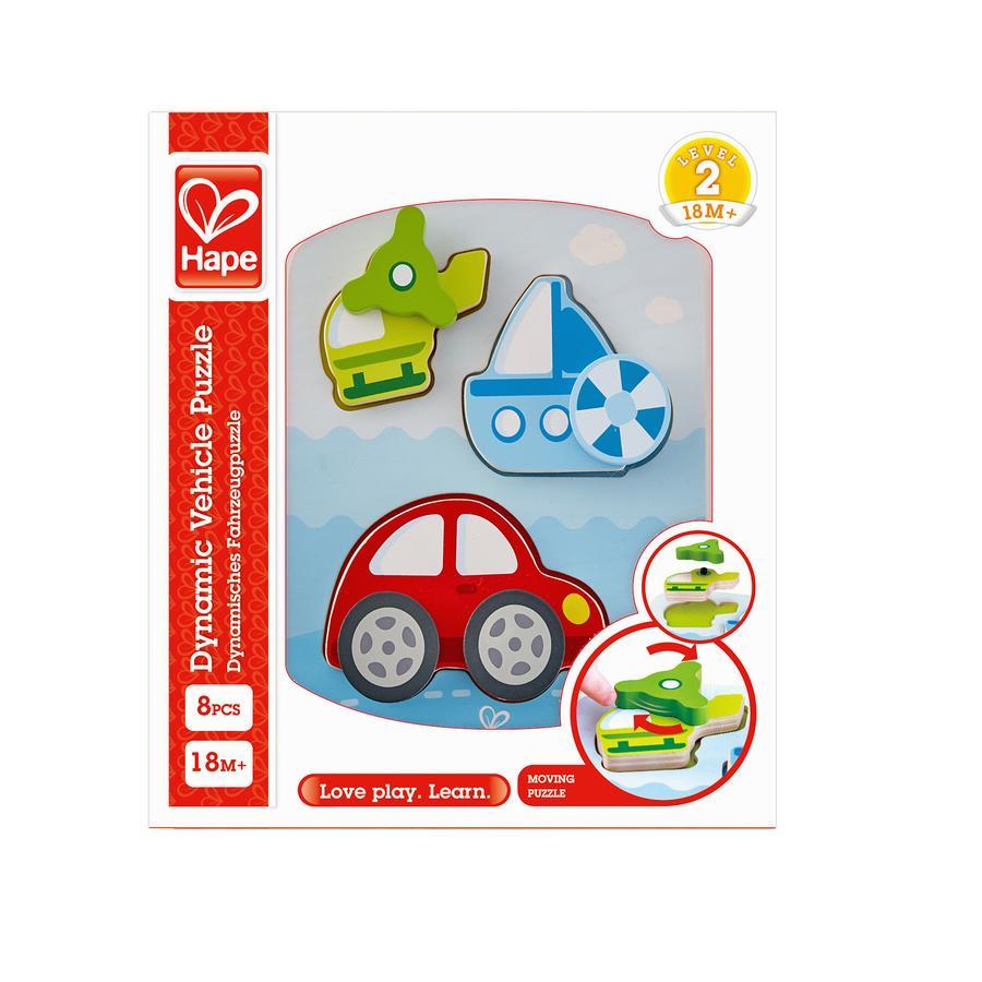 Hape puzzle di veicoli dinamici