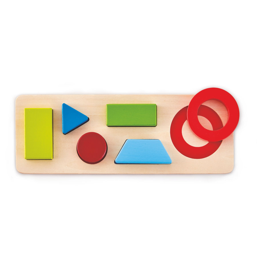 Hape Puzzle formes géométriques bois E1615