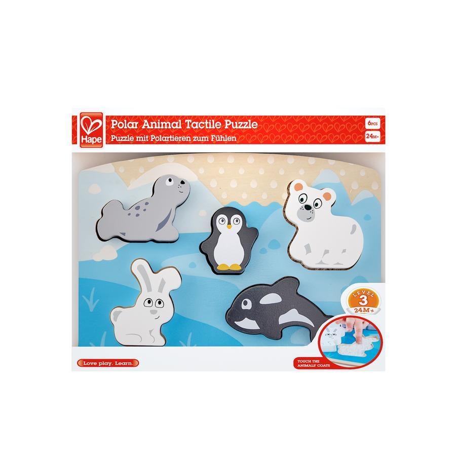 Hape Fühlpuzzle Polartiere