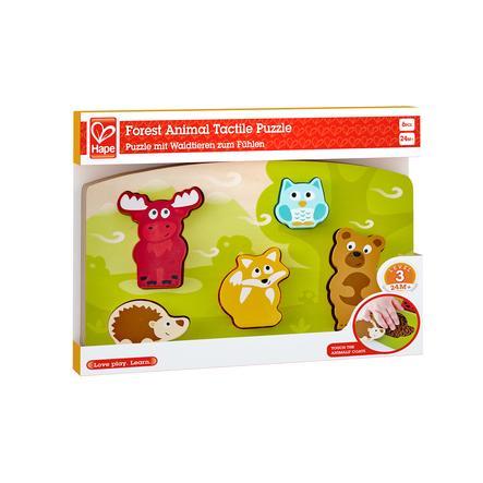 Hape Puzzle tactile Animaux de la forêt