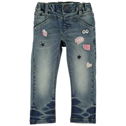 name it Girl Jeans A girl dark blue denim