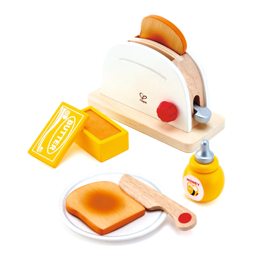 HAPE Pop-Up-Toaster-set