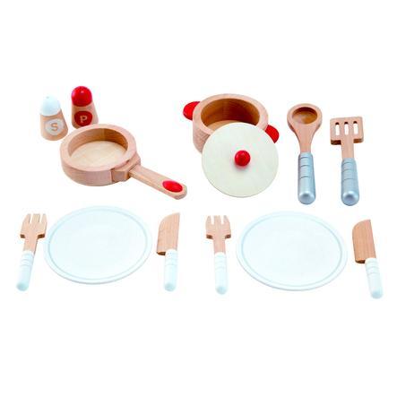 Hape Dřevěné nádobí do kuchyňky