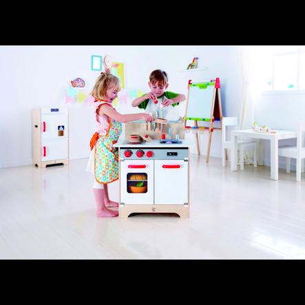 Hape Cuisine enfant Gourmet, blanc, bois