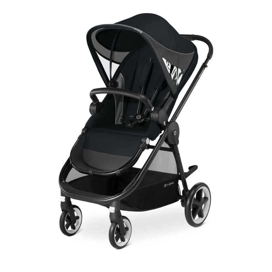 cybex GOLD Pushchair Iris M-Air Lavastone Black-black