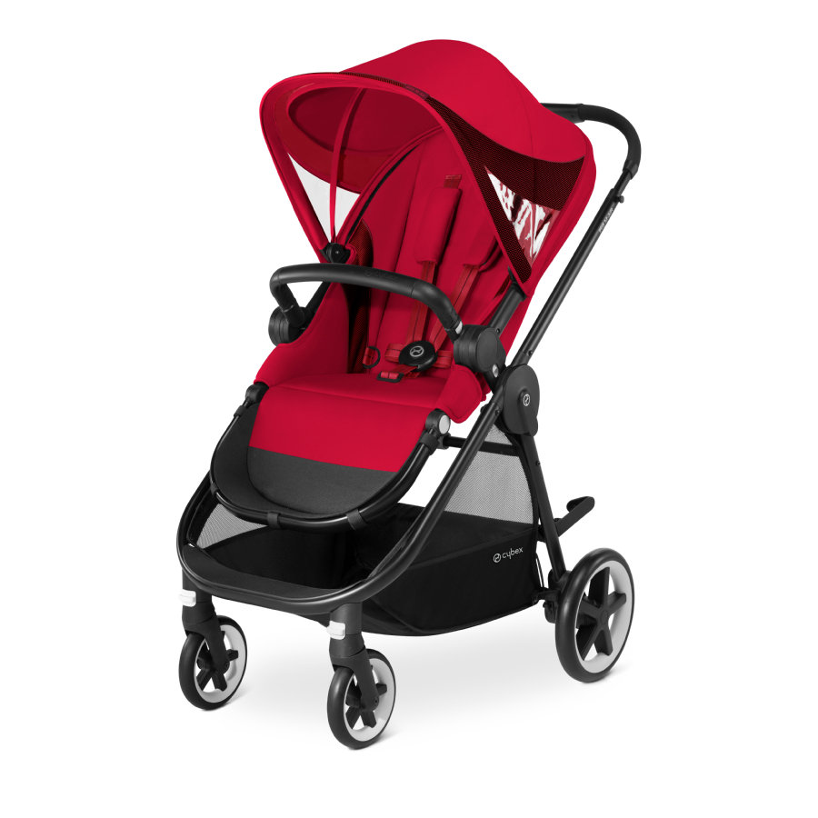 cybex Sittvagn Iris M-Air Rebel Red-red