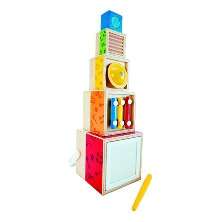 Hape Muziek-Stapelboxen