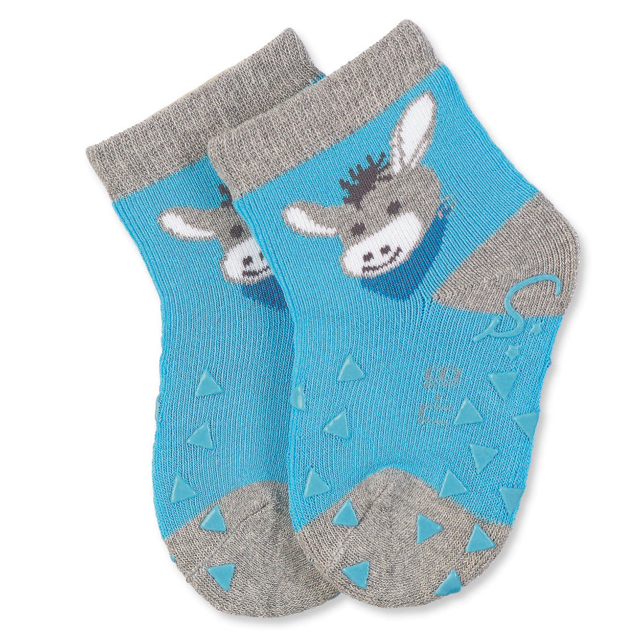 Sterntaler Boys ABS ponožky pro batolata Erik, šedivé