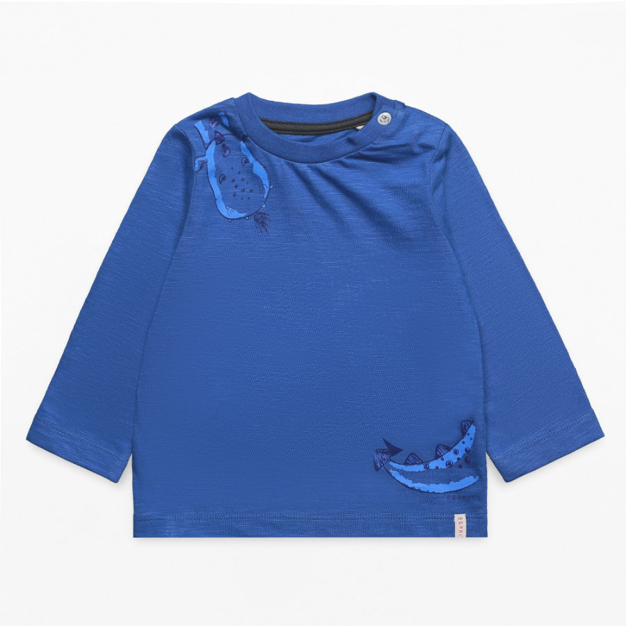 ESPRIT Boys Chemise manches longues bleu océan foncé