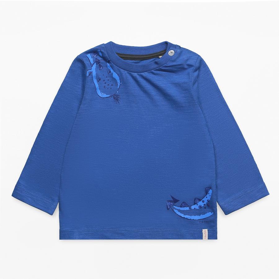 ESPRIT Chlapecká košile s dlouhým rukávem tmavě modrá ocean