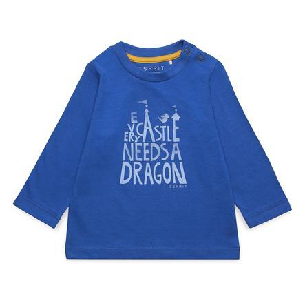 ESPRIT Boys Shirt met lange mouwen donkerblauw oceaanblauw