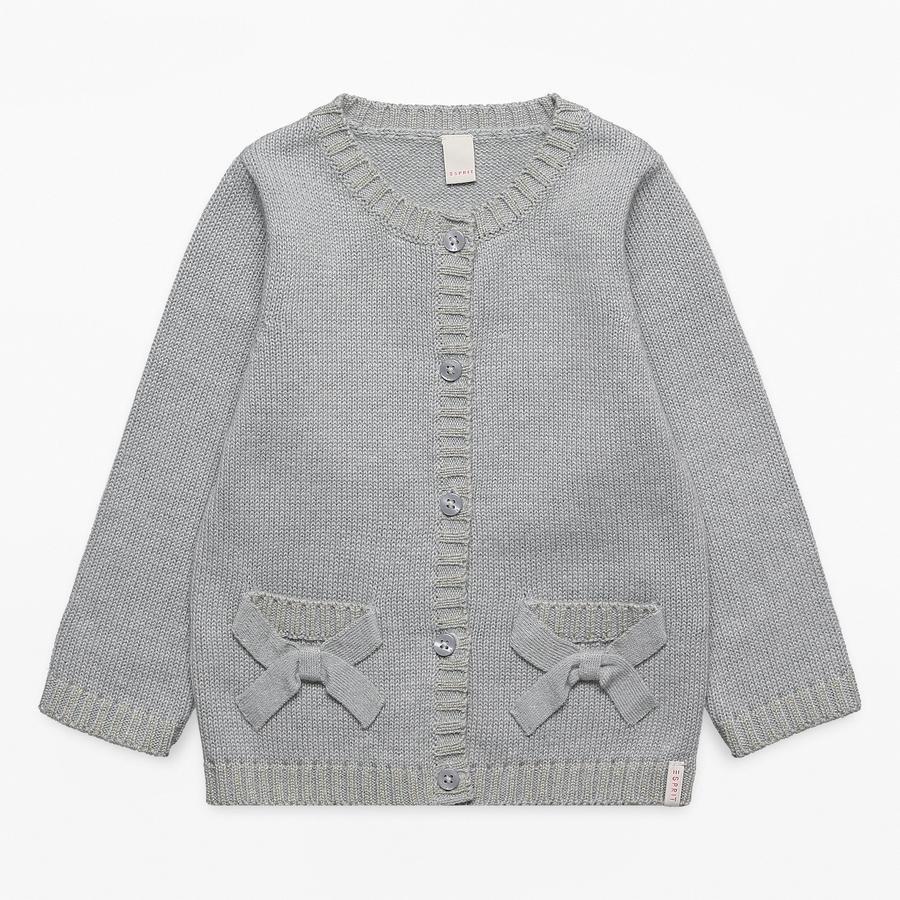 ESPRIT Girl s cardigan grigio erica media