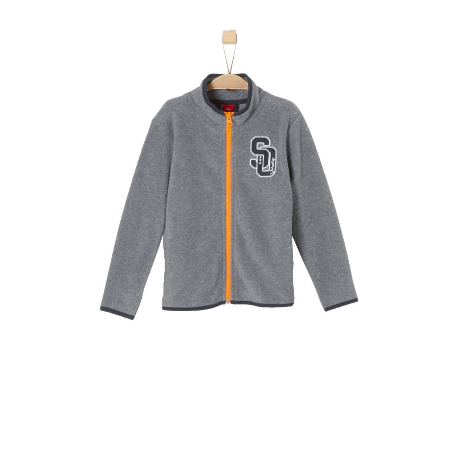 s.Oliver Boys Fleecejacke grey melange
