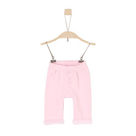 s.Oliver Fleecebyxor light pink