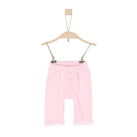 s. Oliver tyttöjen Fleece vaaleat housut vaaleanpunainen