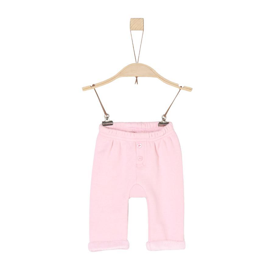 s.Oliver Girl s Pantalón de vellón rosa claro