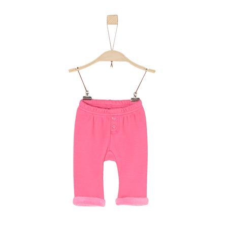 s.Oliver Fleecebyxor pink